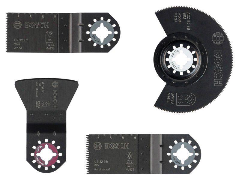 Bosch Werkzeug-Zubehör-Set »PMF Boden / Einbau, 4-tlg.«