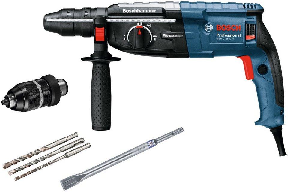 Bohrhammer »GBH 2-28 DFV« in blau