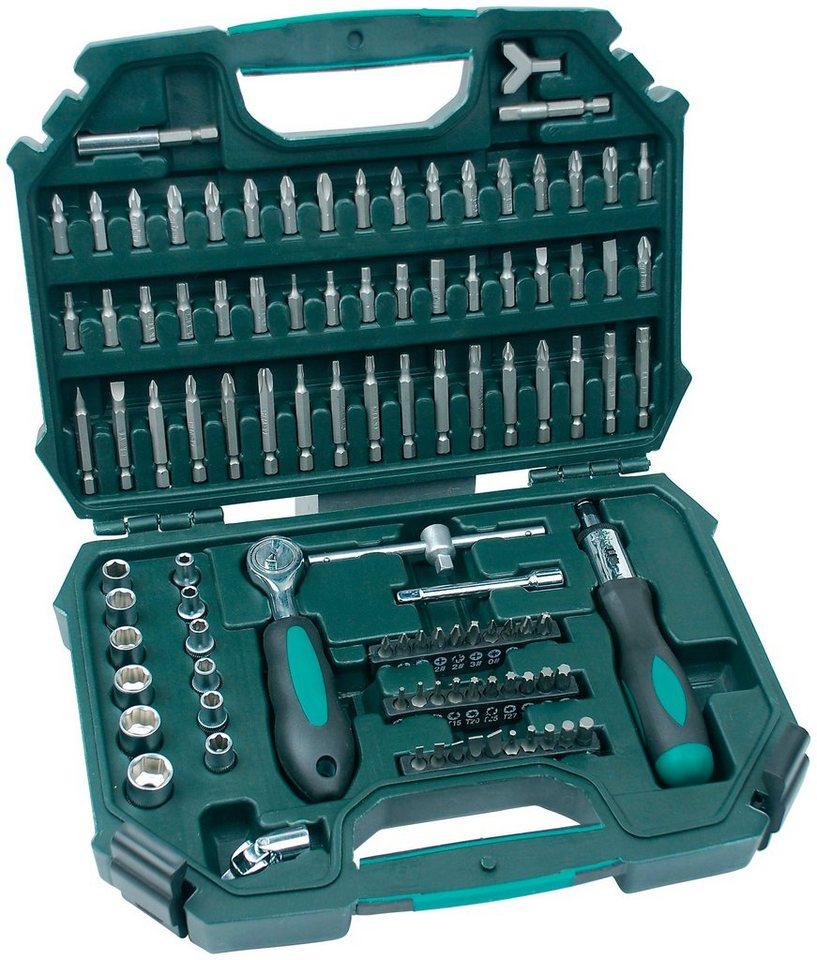 Werkzeugkoffer »101-tlg.« in grün