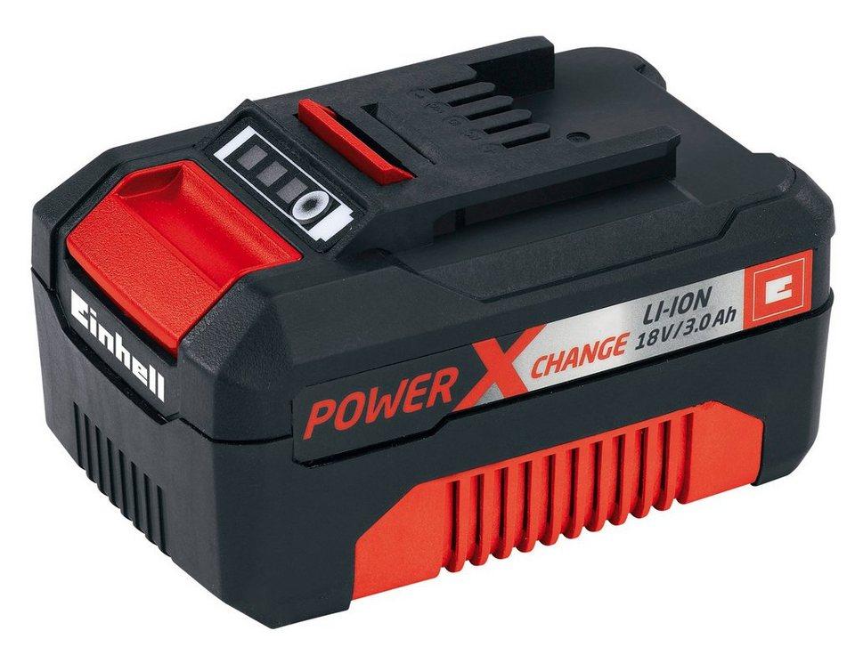 Lithium-Ionen-Akku »Power X-Change 18 V 3,0 Ah«, Power X-Change Serie in schwarz