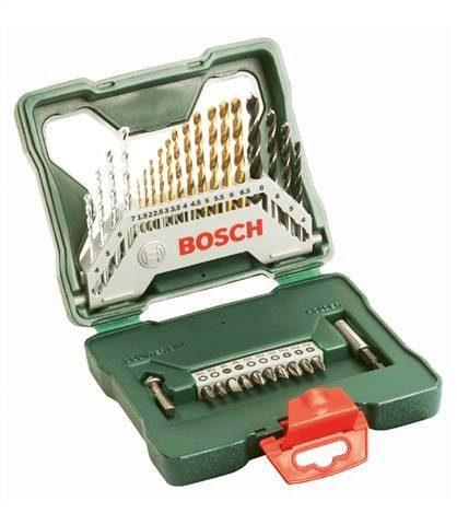 Bosch Bohrer-und Bit-Set »X-Line Titanium (30-tlg.)«