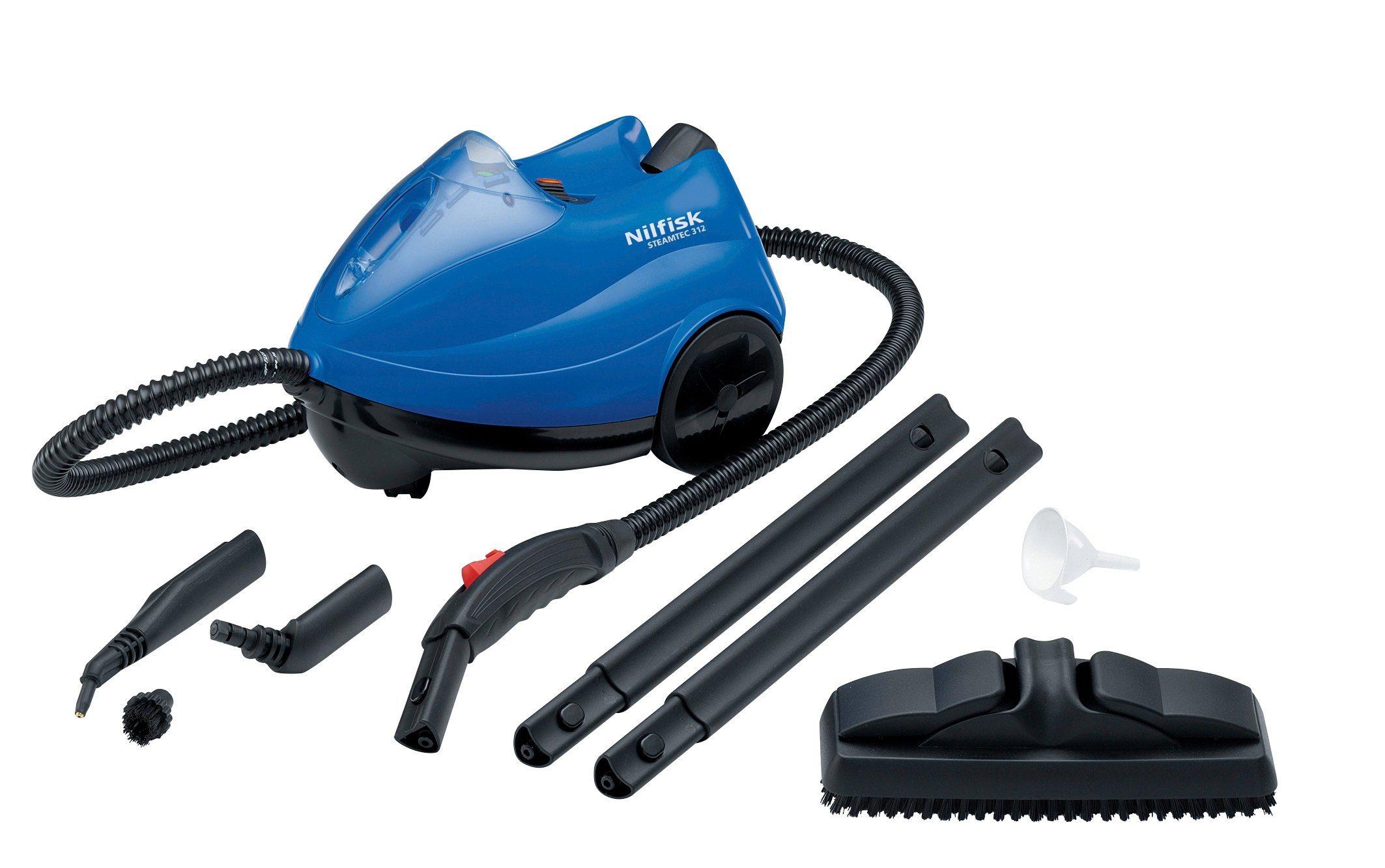 Nilfisk Dampfreiniger »Steamtec 312« | Flur & Diele > Haushaltsgeräte > Dampfreiniger | Nilfisk