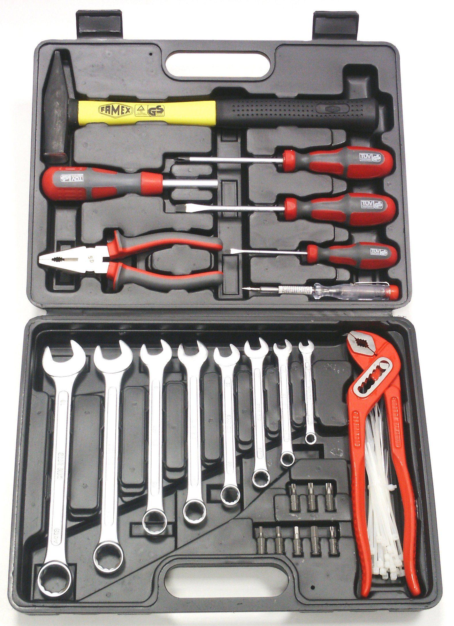 Werkzeugkoffer »Kompakt-Werkzeugkoffer (59-tlg.)«