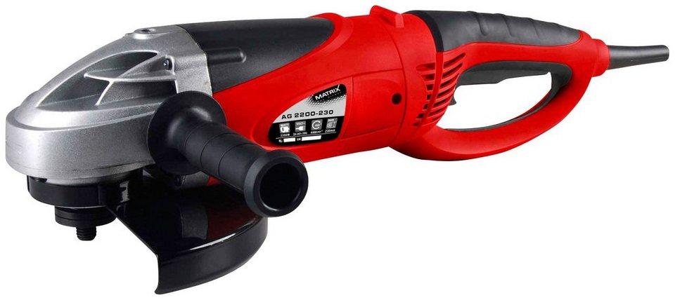 Winkelschleifer »AG 2200-230« in rot