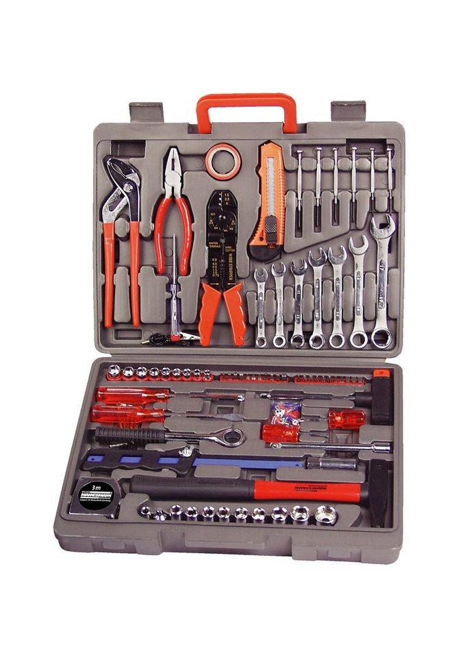 Brueder Mannesmann Werkzeuge Werkzeugkoffer (555-tlg.)