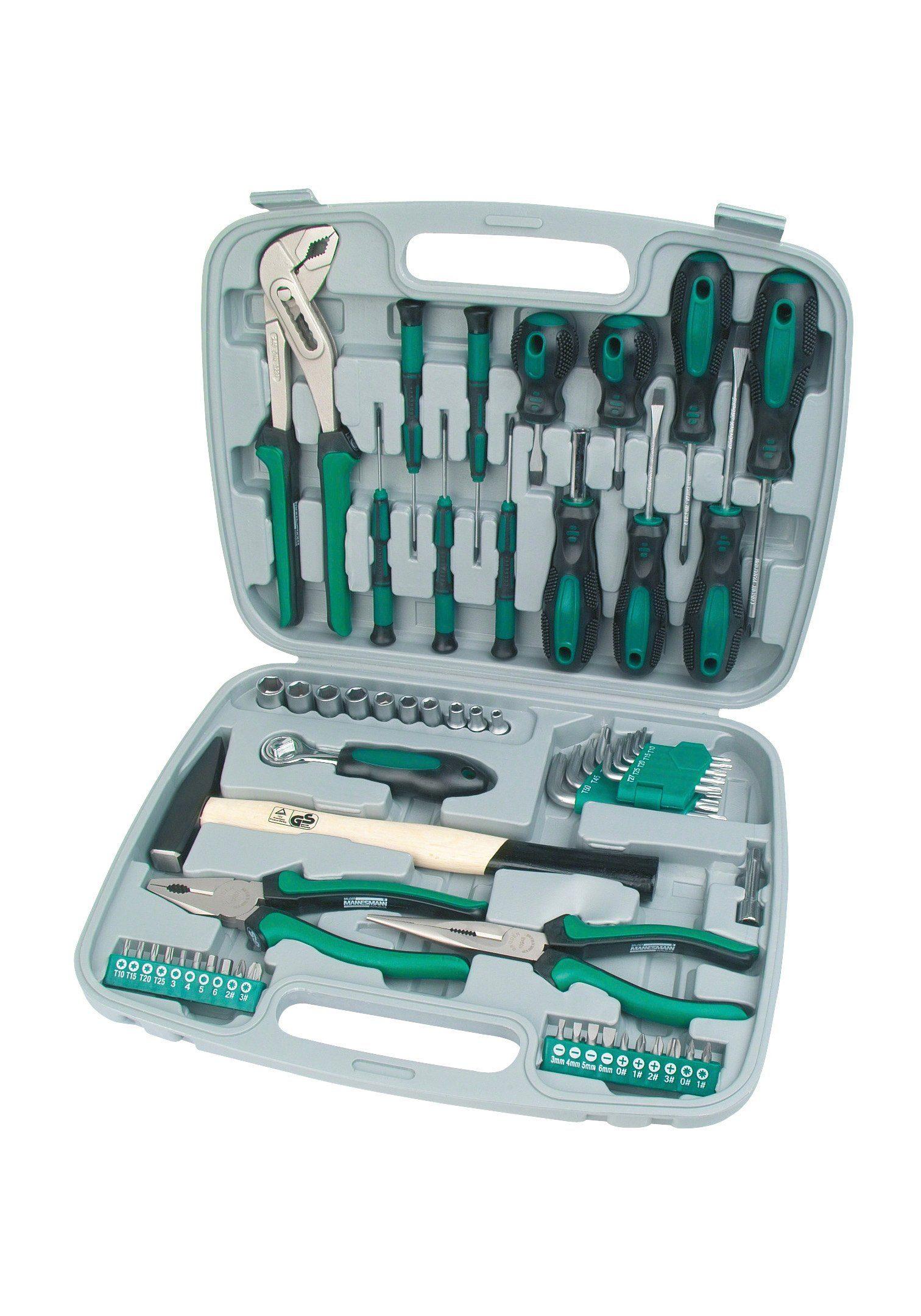 Brueder Mannesmann Werkzeuge Werkzeugsatz (57-tlg.)
