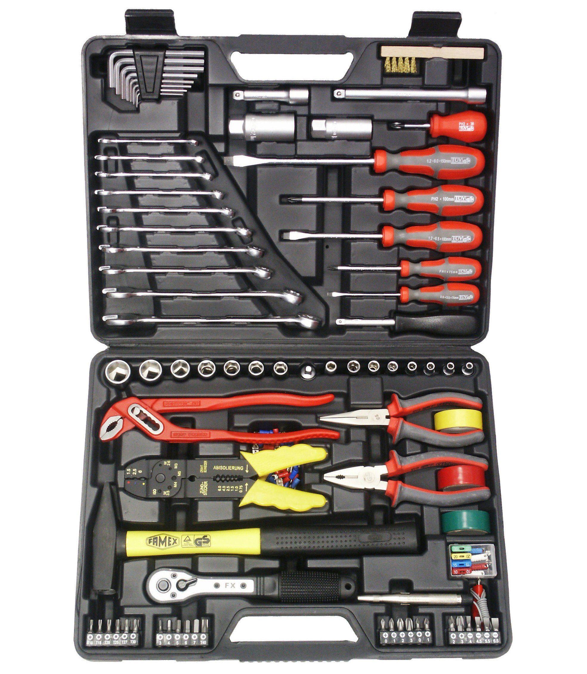 Universal-Werkzeugkoffer, 168-teilig