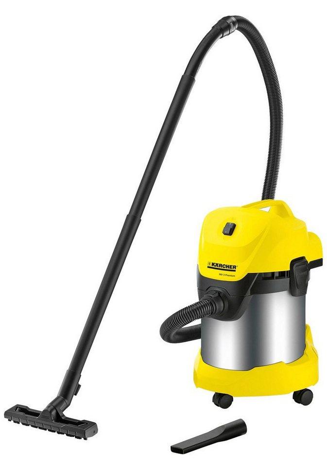 Nass-Trockensauger »WD 3 Premium« in gelb