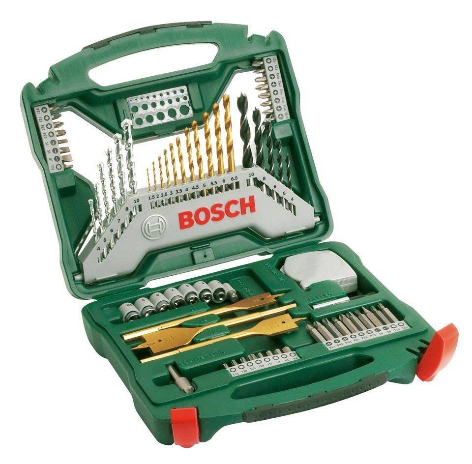 Bosch Bohrer-und Bit-Set »X-Line Titanium 70 (70-tlg.)«