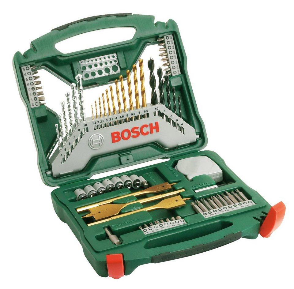 Werkzeug-Zubehör-Set »X-Line Titanium + Zangen-Set«, 70tlg. in grün