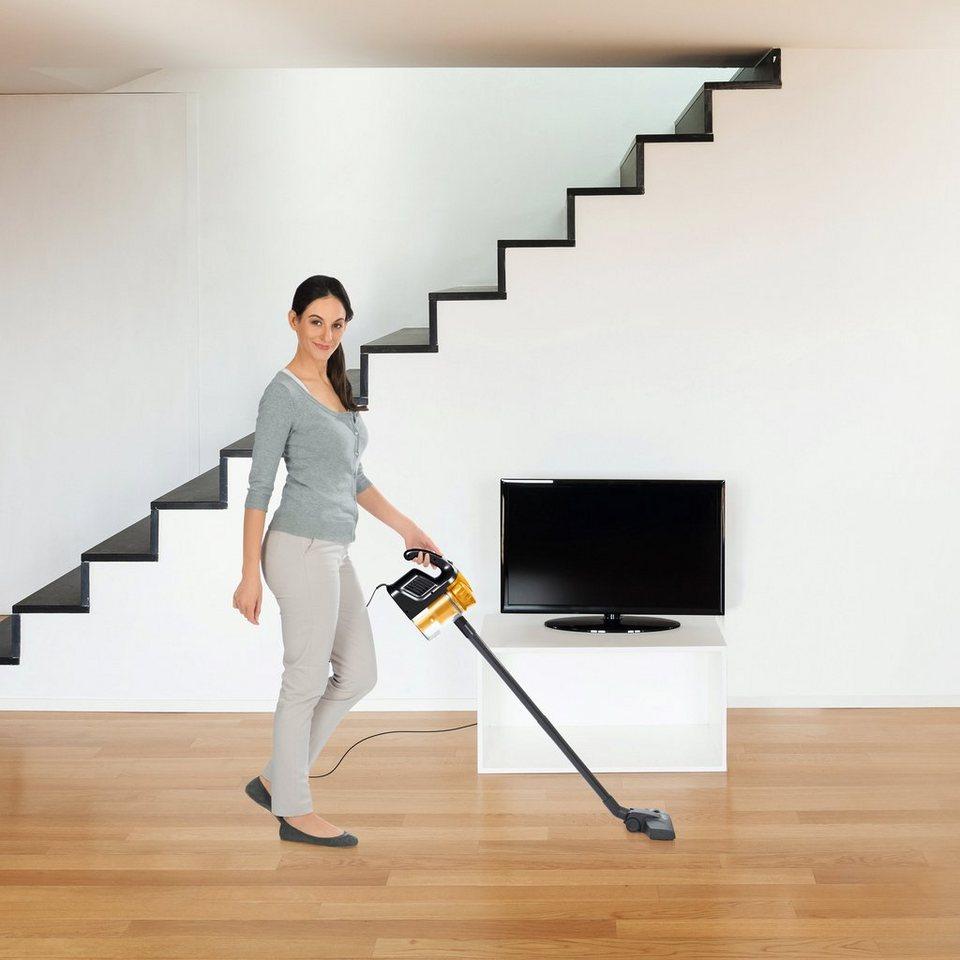 clean maxx zyklon staubsauger multi sensation 2in1 600w gw906 s60 schwarz gold online kaufen. Black Bedroom Furniture Sets. Home Design Ideas