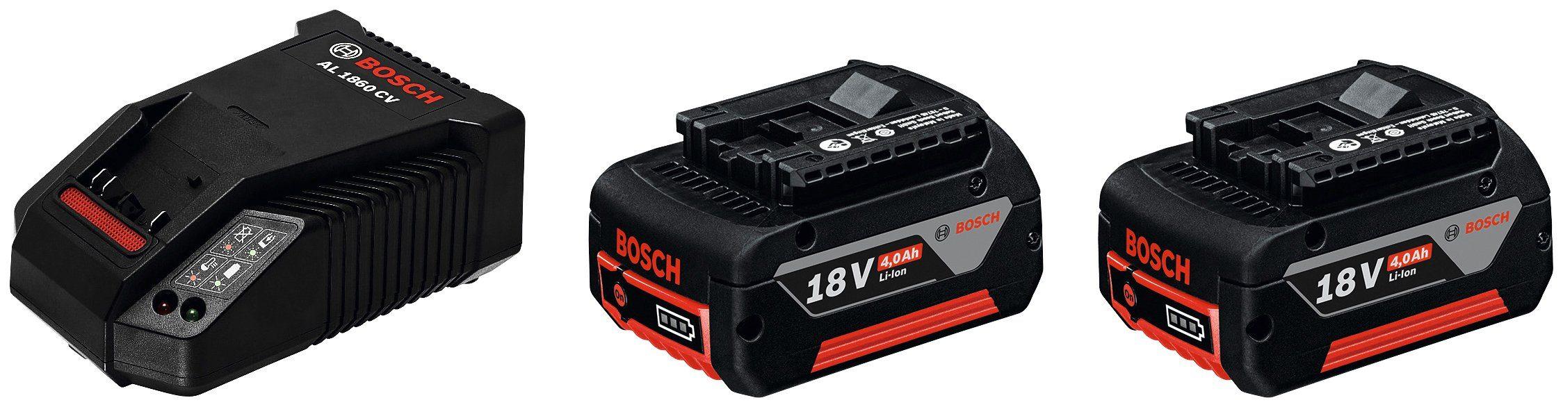 Ladegerät »GBA 18 V + AL 1860 CV«, 18 V 4 Ah