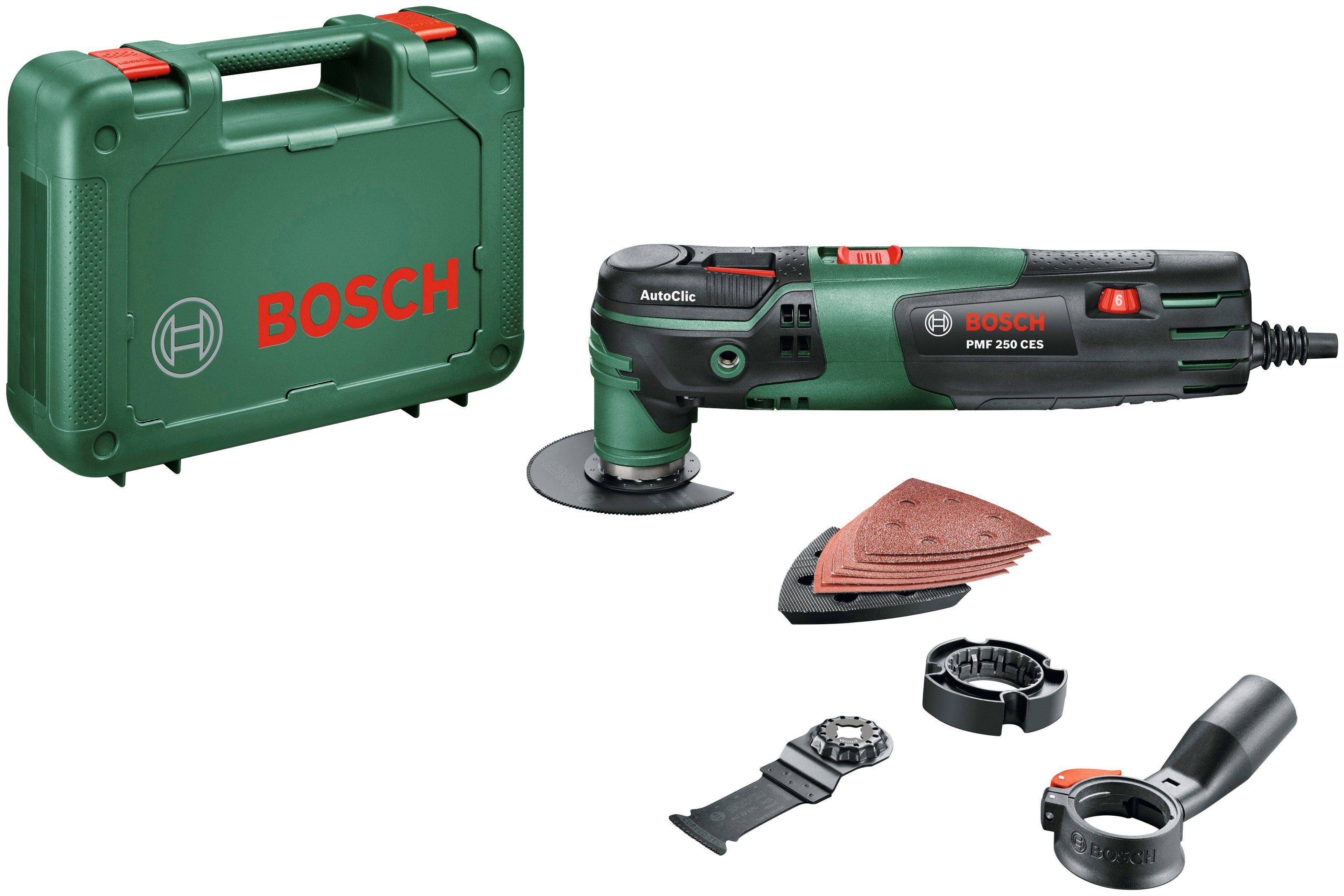 Bosch Multifunktionswerkzeug »PMF 250 CES «