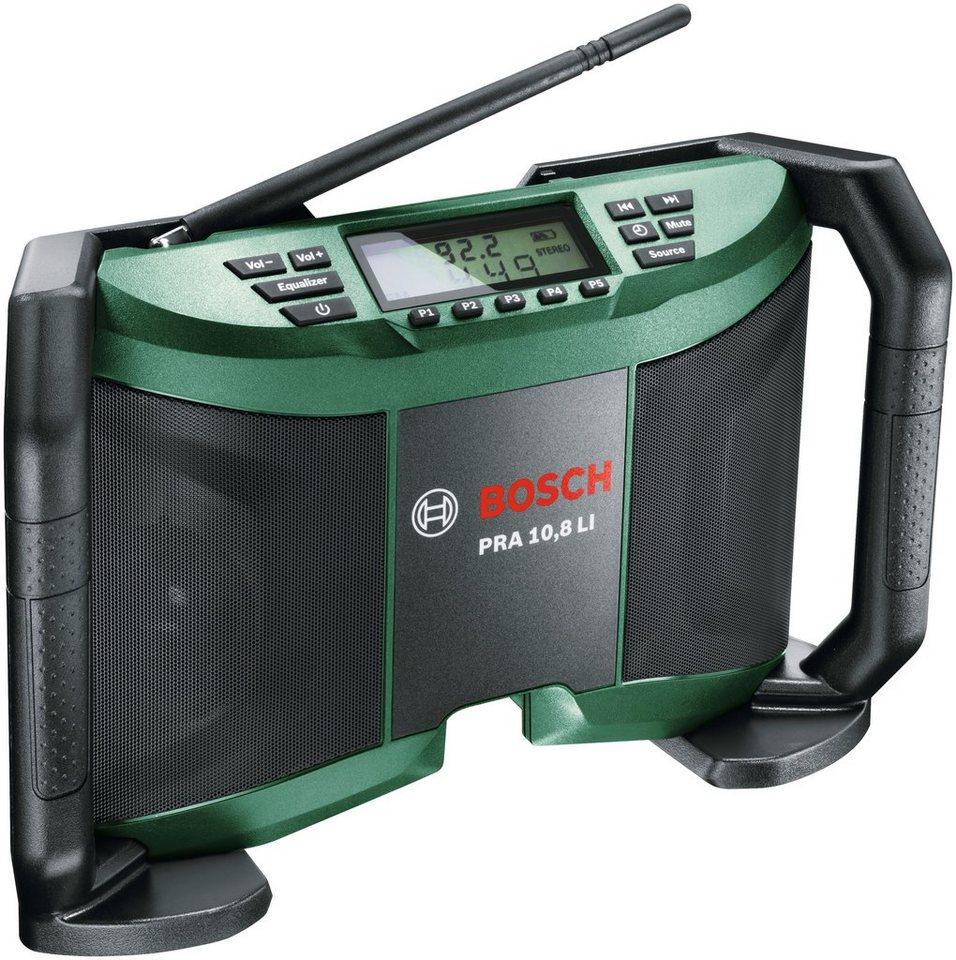 Akku-Radio »PRA 10,8 LI« in grün