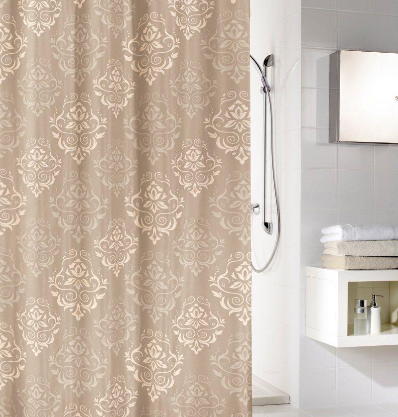 Duschvorhang »Queen« in beige
