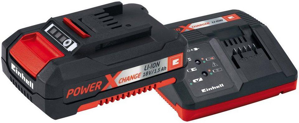 Akkuladestation »Power-X-Charger 18V 30min« Starter-Kit, Power X-Change Serie in schwarz