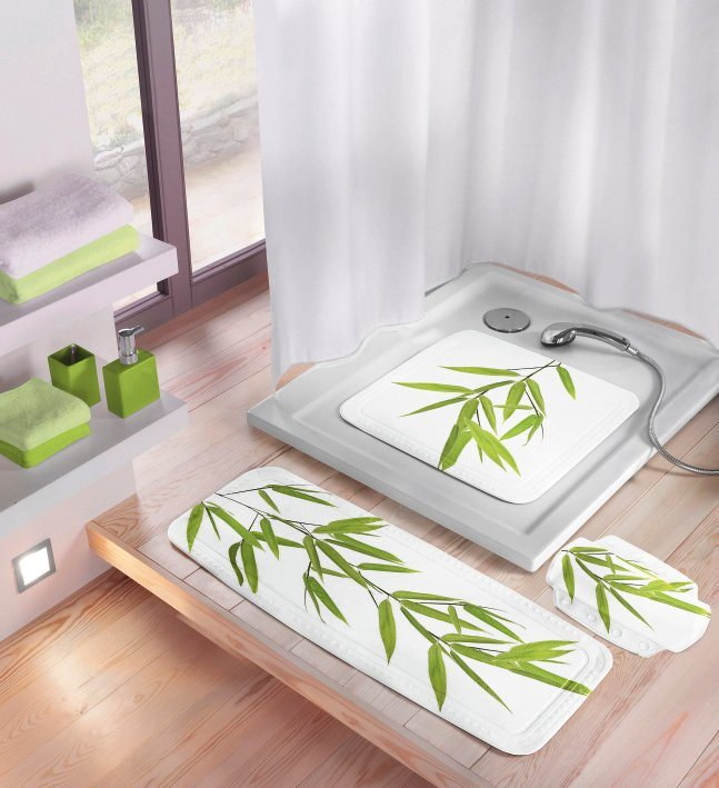 Wanneneinlage »Bamboo« in grün