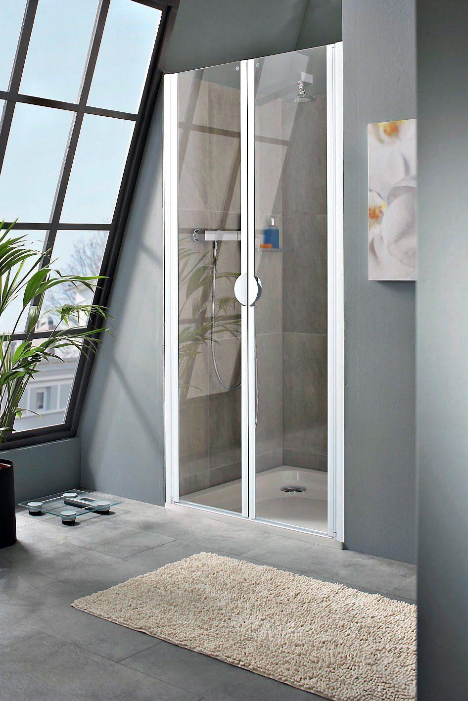 SCHULTE Pendeltür »Sunny«, Duschtür mit Verstellbereich von 78-82 cm