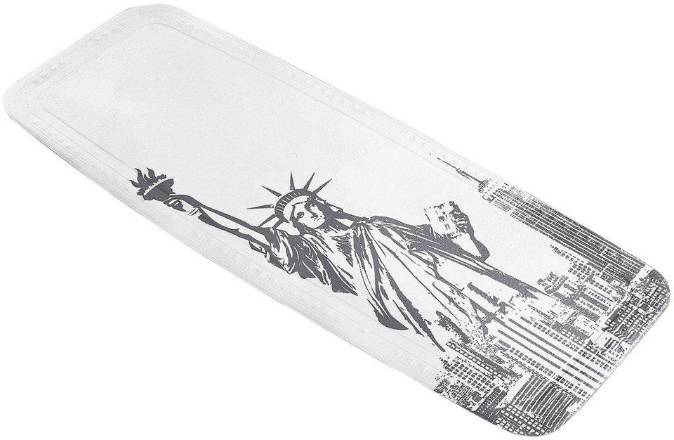 Wanneneinlage »Liberty« in platinfarben