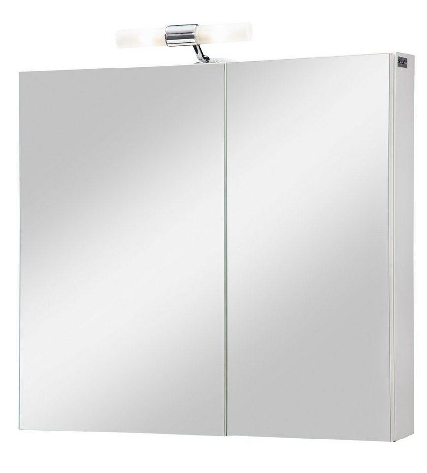 aquaform spiegelschrank helsinki breite 65 cm mit beleuchtung online kaufen otto. Black Bedroom Furniture Sets. Home Design Ideas