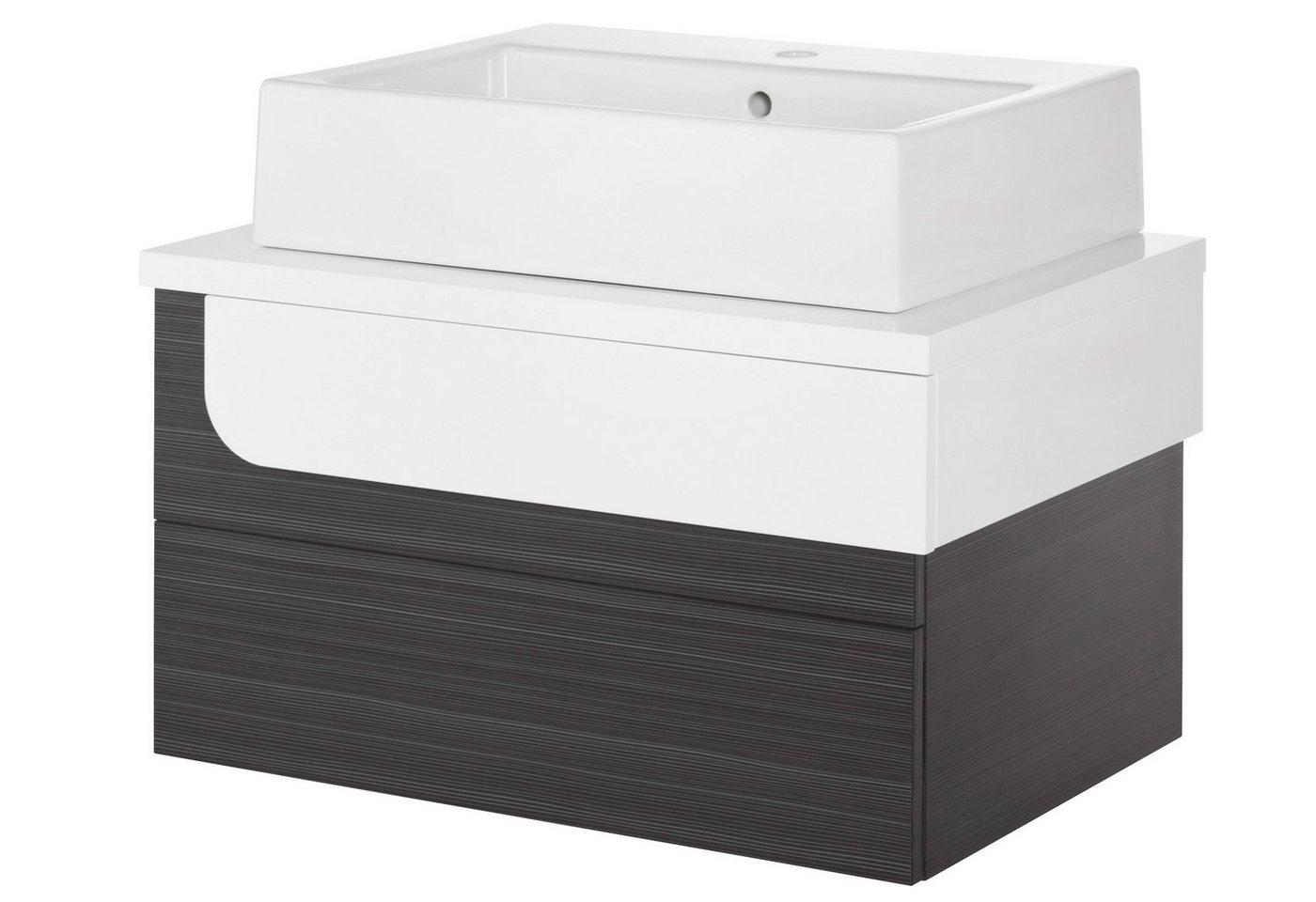 aufsatzwaschbecken 60 cm preisvergleiche. Black Bedroom Furniture Sets. Home Design Ideas