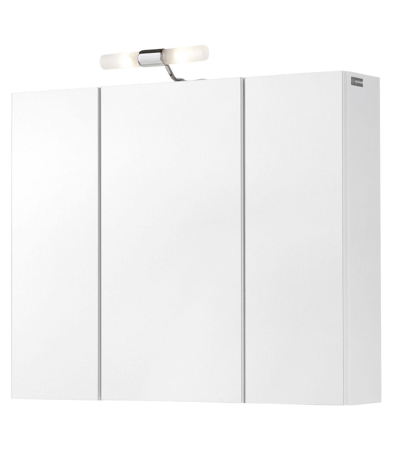 Aquaform Spiegelschrank »Posen« Breite 72 cm, mit Beleuchtung