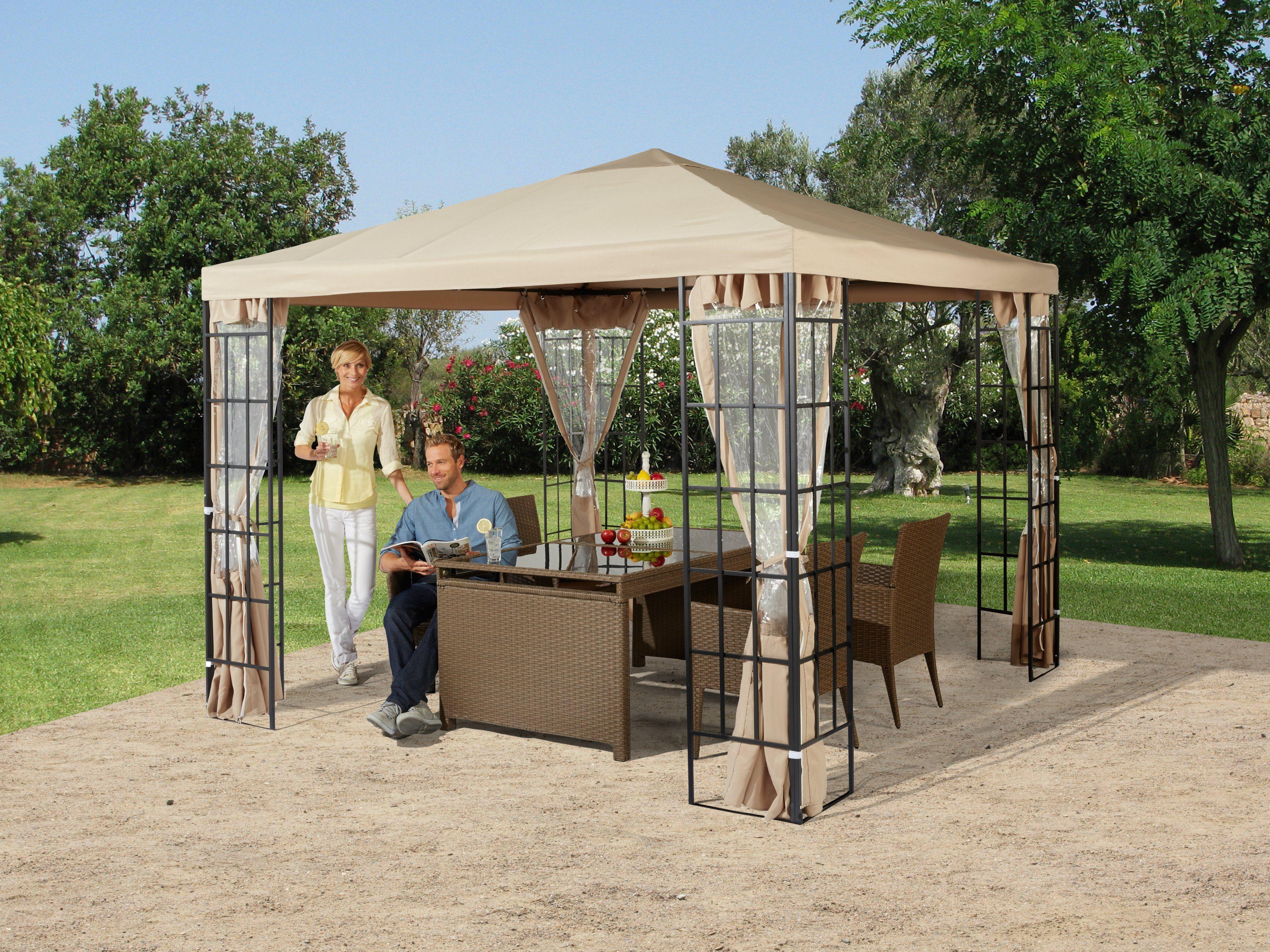 Ersatzdach für Pavillon »Tulpe, sandfarbend«
