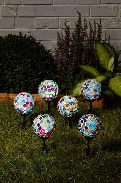 Solarlampen Für Draußen : bunte solarleuchten garten ~ Whattoseeinmadrid.com Haus und Dekorationen
