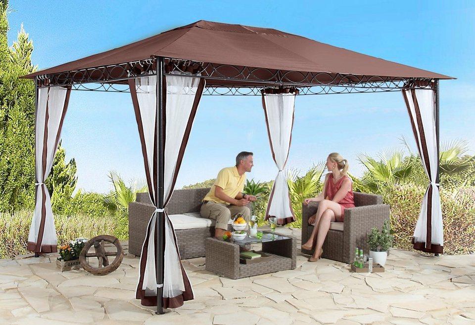 seitenteile f r pavillon stil cappuccino kaufen otto. Black Bedroom Furniture Sets. Home Design Ideas