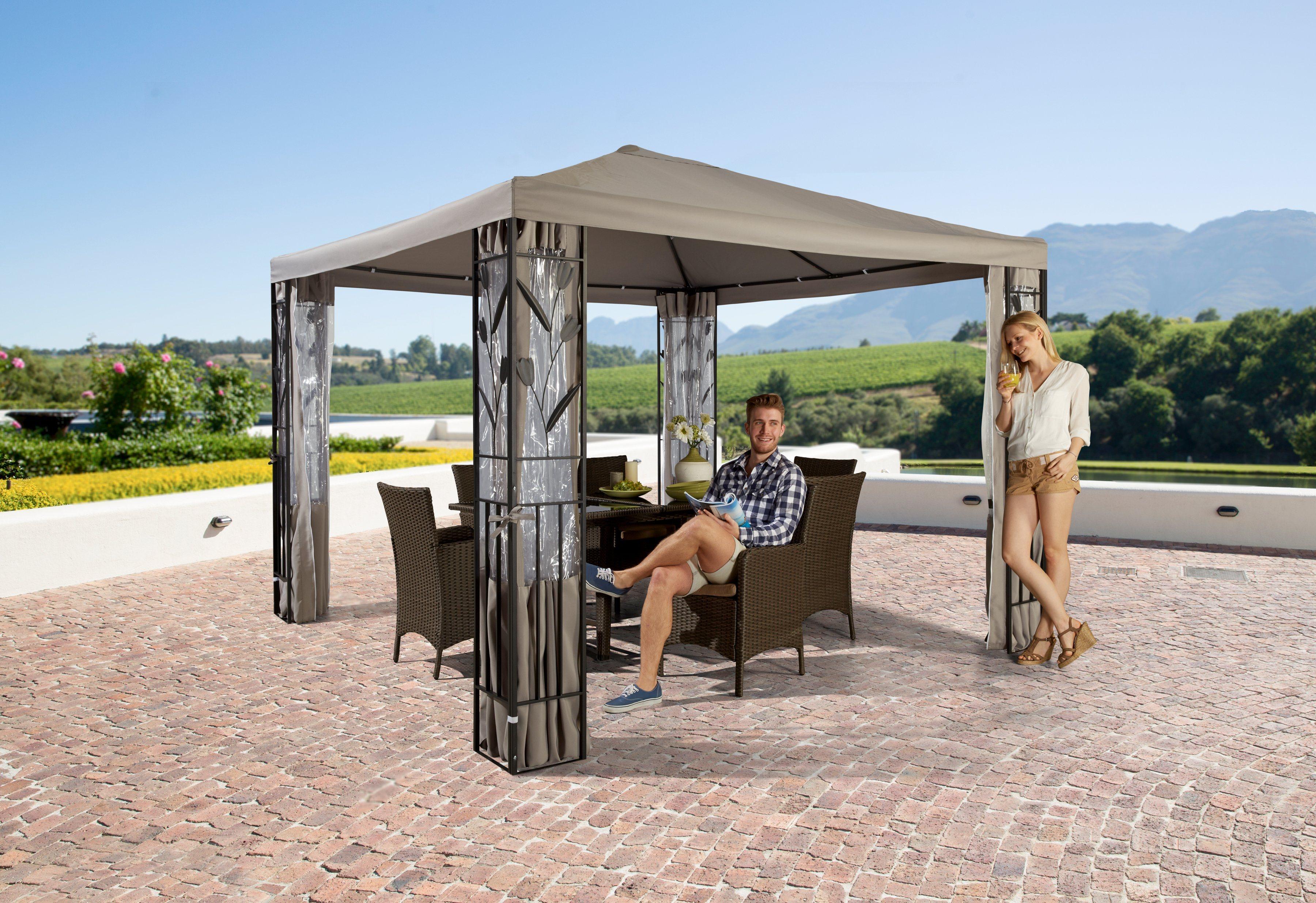 pavillon seitenteile preisvergleich die besten angebote online kaufen. Black Bedroom Furniture Sets. Home Design Ideas