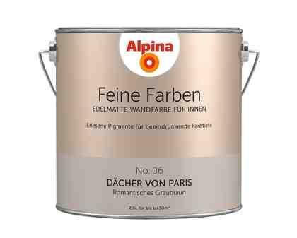 ALPINA Farbe »Alpina Feine Farben Dächer von Paris«, 2,5 l