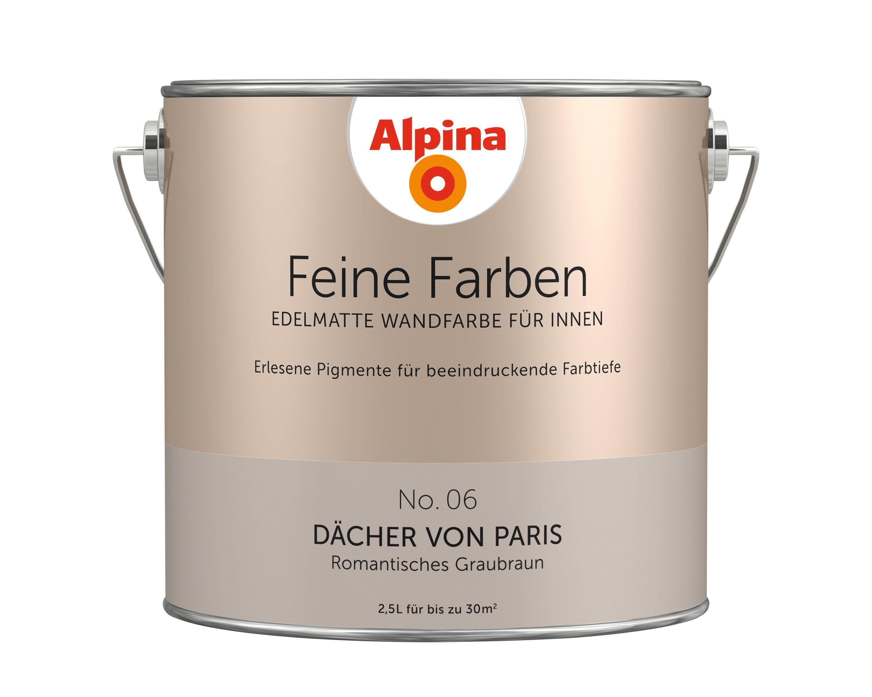 Alpina Feine Farben »Dächer von Paris«