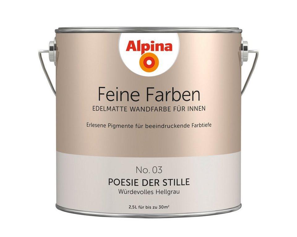 alpina farbe alpina feine farben poesie der stille 2 5. Black Bedroom Furniture Sets. Home Design Ideas