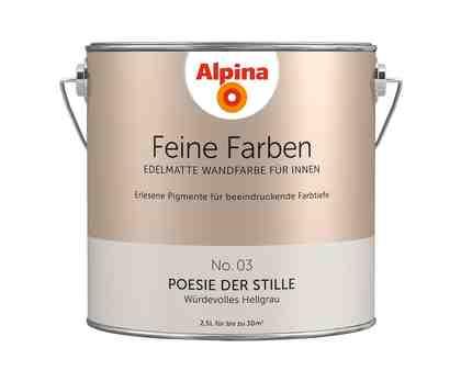 ALPINA Farbe »Alpina Feine Farben Poesie der Stille«, 2,5 l
