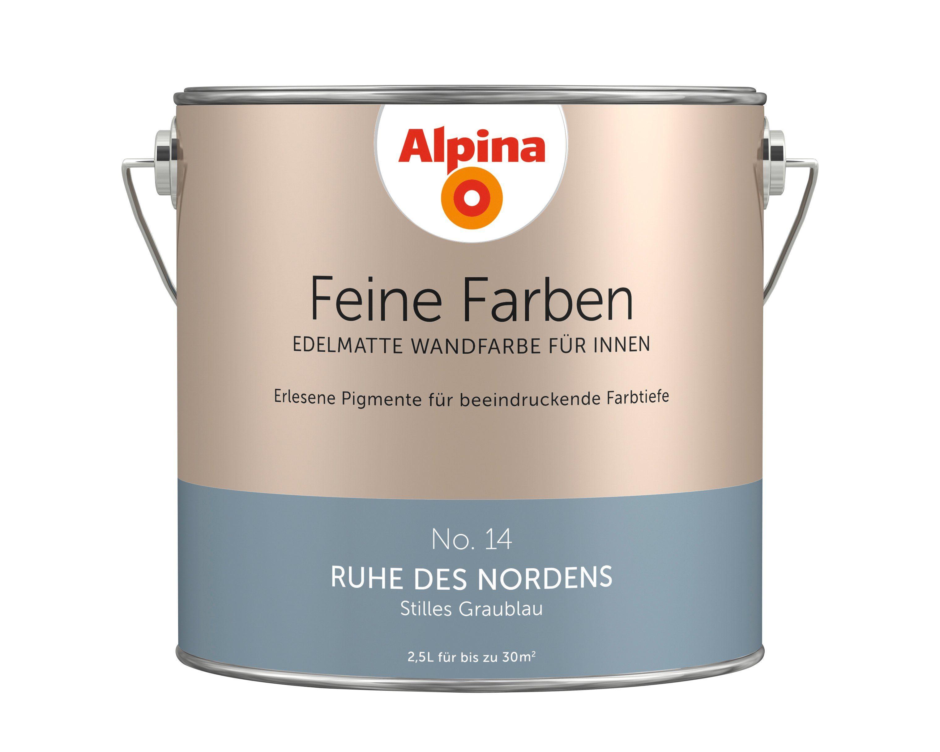 ALPINA Farbe »Alpina Feine Farben Ruhe des Nordens«, 2,5l