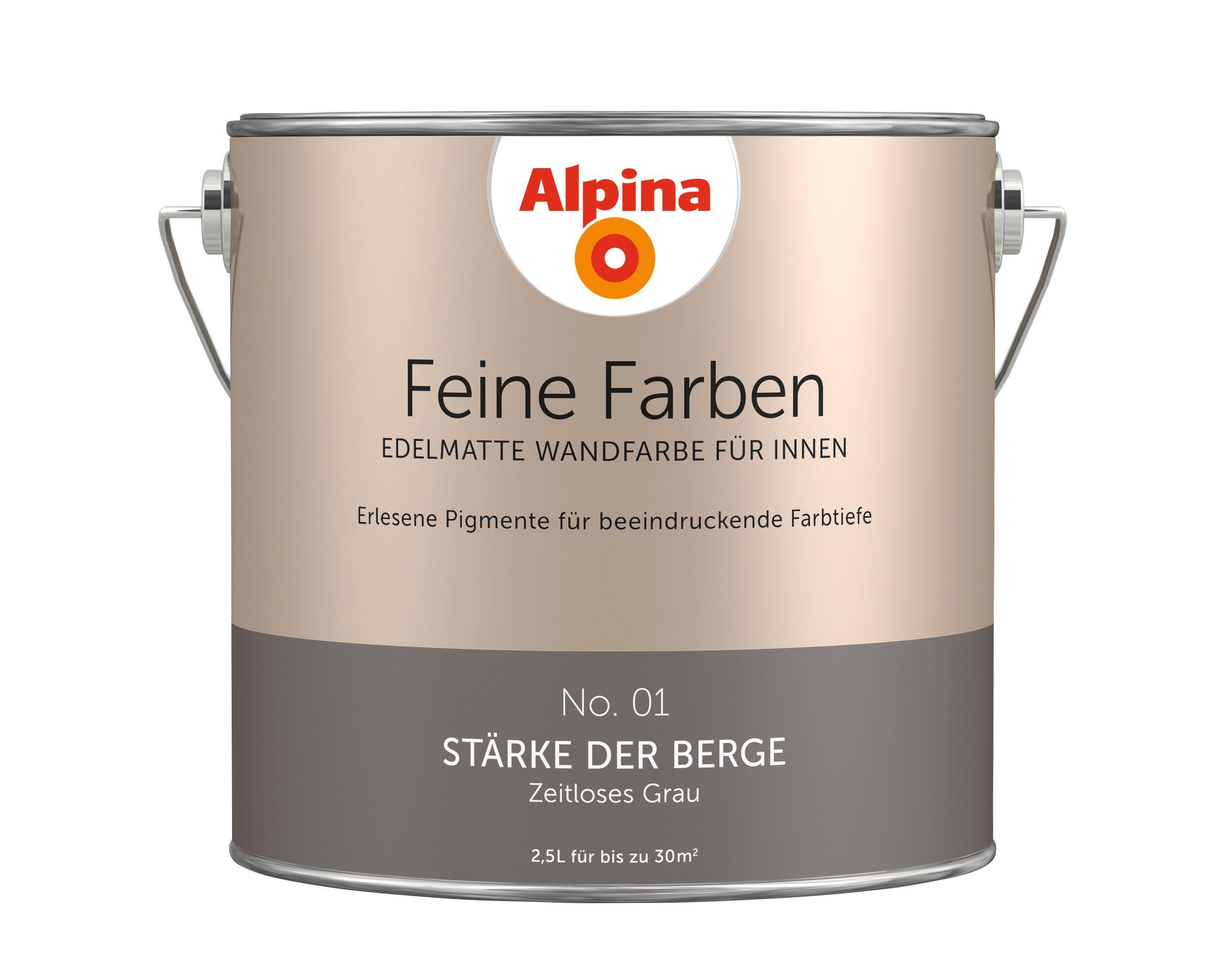 ALPINA Farbe »Alpina Feine Farben Stärke der Berge«, 2,5 l