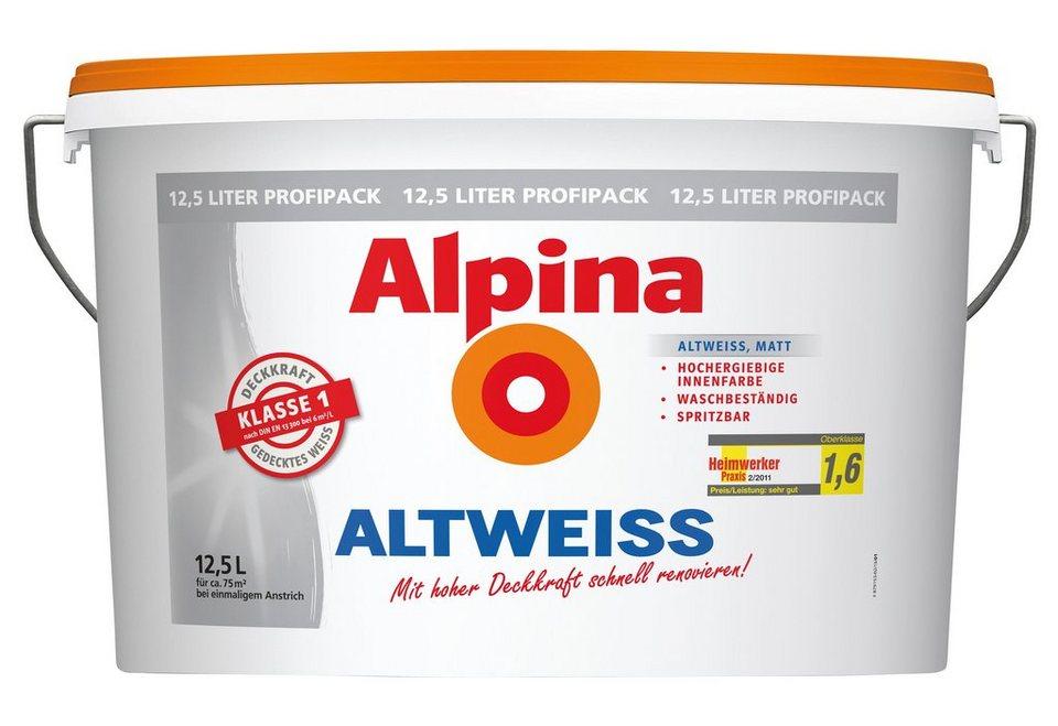 alpina innenfarbe altweiss online kaufen otto. Black Bedroom Furniture Sets. Home Design Ideas