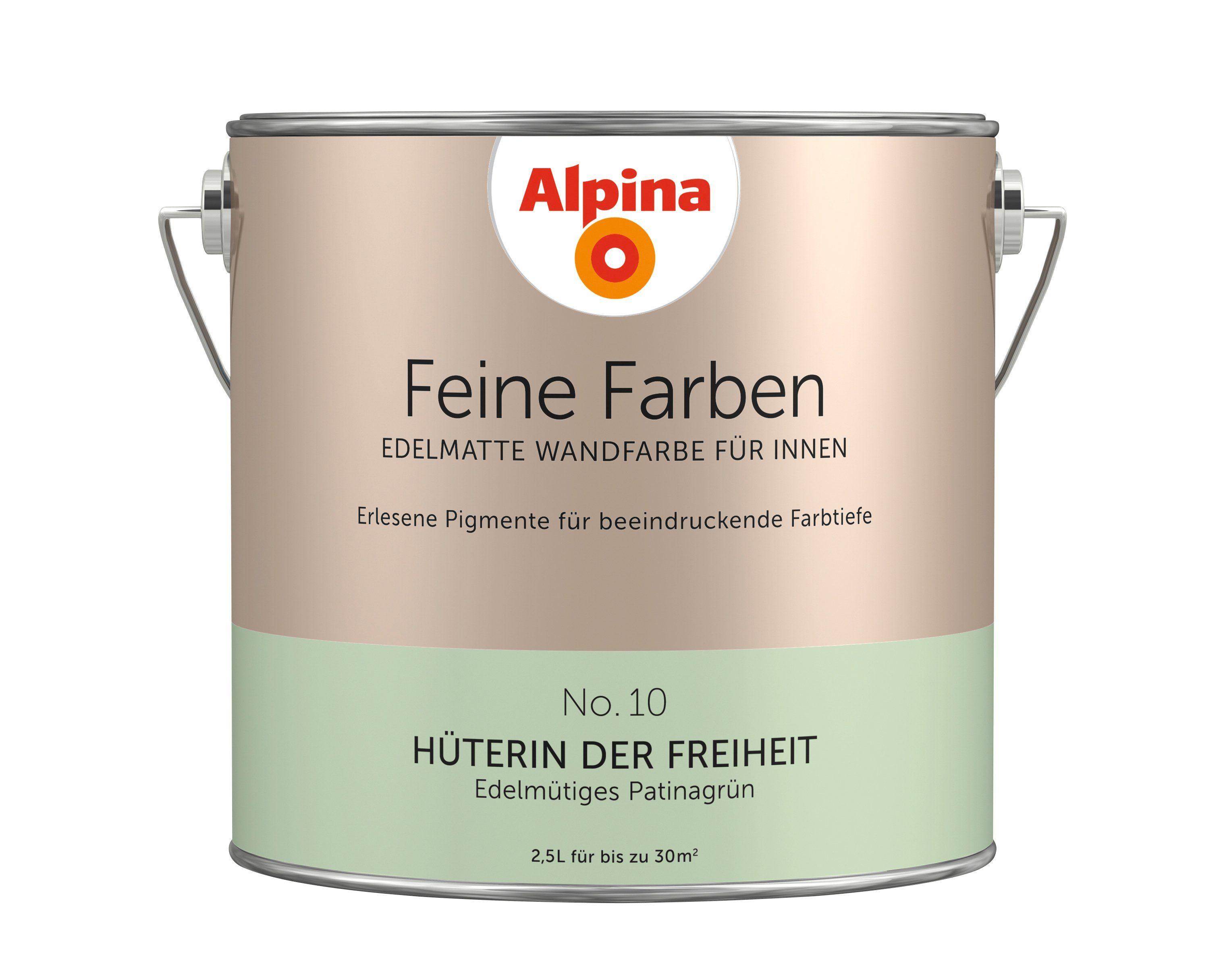 ALPINA Farbe »Alpina Feine Farben Hüterin der Freiheit«, 2,5 l