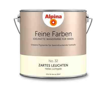 ALPINA Farbe »Alpina Feine Farben Zartes Leuchten«, 2,5 l