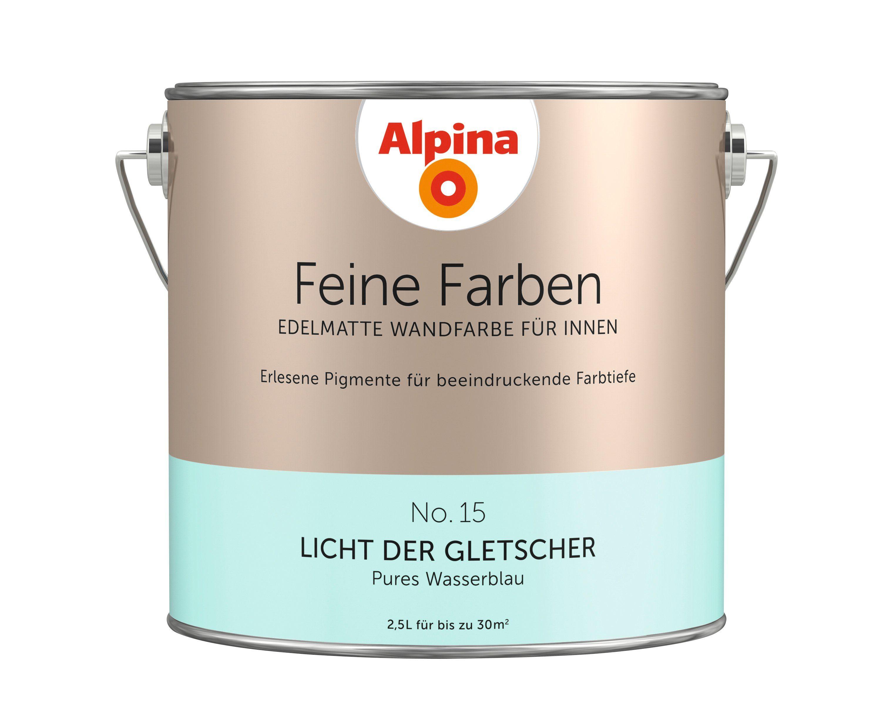 ALPINA Farbe »Alpina Feine Farben Licht der Gletscher«, 2,5 l