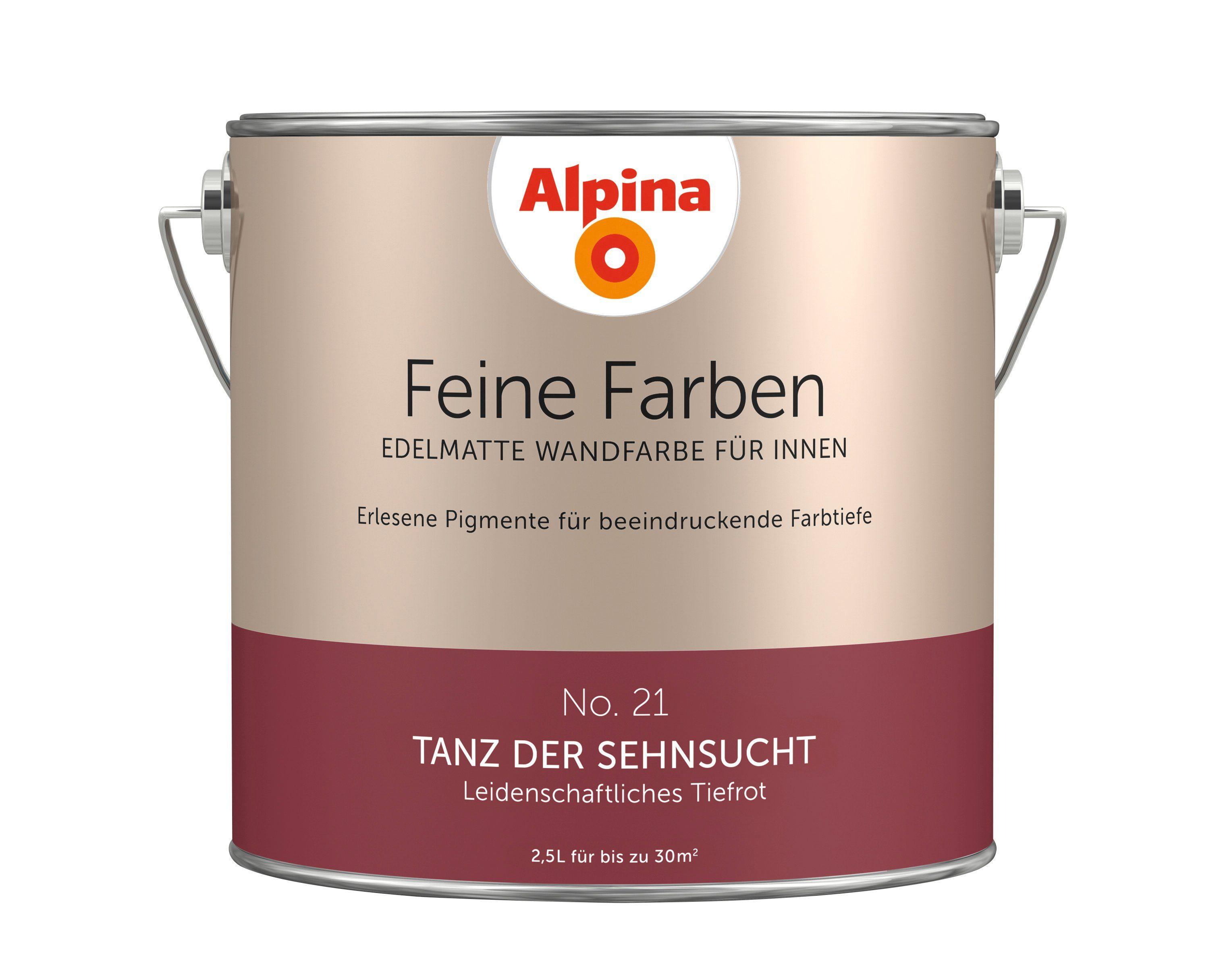 ALPINA Farbe »Alpina Feine Farben Tanz der Sehnsucht«, 2,5 l