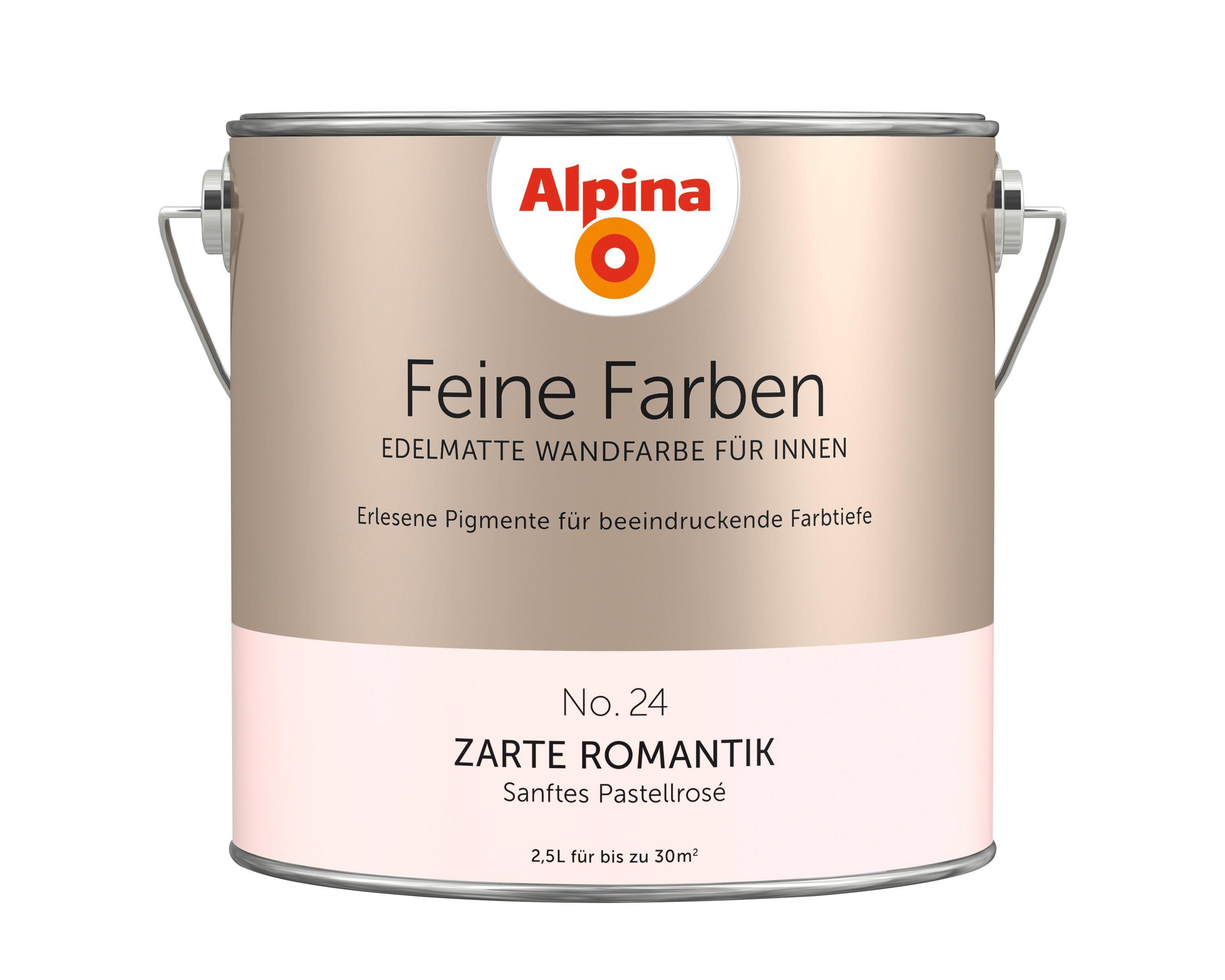 ALPINA Farbe »Alpina Feine Farben Zarte Romantik«, 2,5 l
