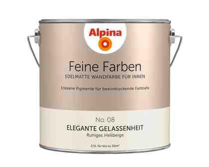 ALPINA Farbe »Alpina Feine Farben Elegante Gelassenheit«, 2,5 l