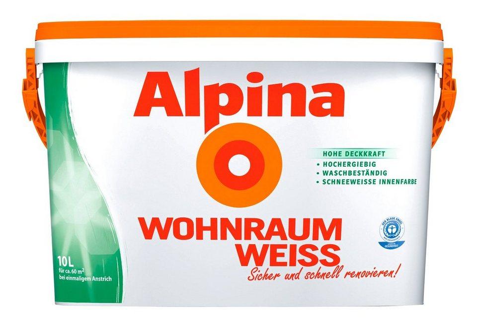 Innenfarbe »Wohnraum Weiss« in weiß