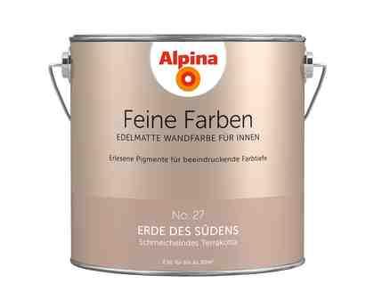 ALPINA Farbe »Alpina Feine Farben Erde des Südens«, 2,5 l