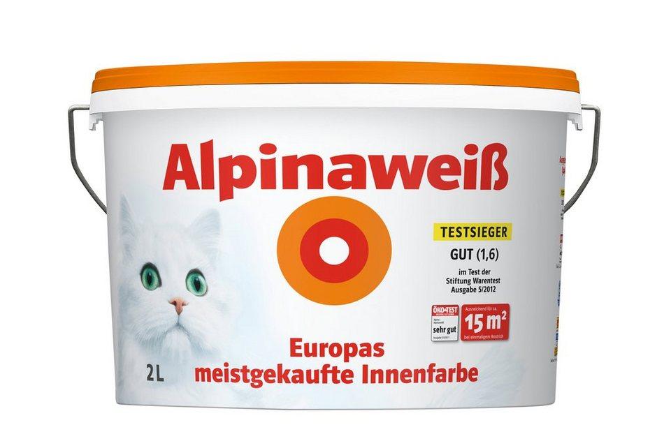 Innenfarbe »Alpinaweiß, 2L« in weiß