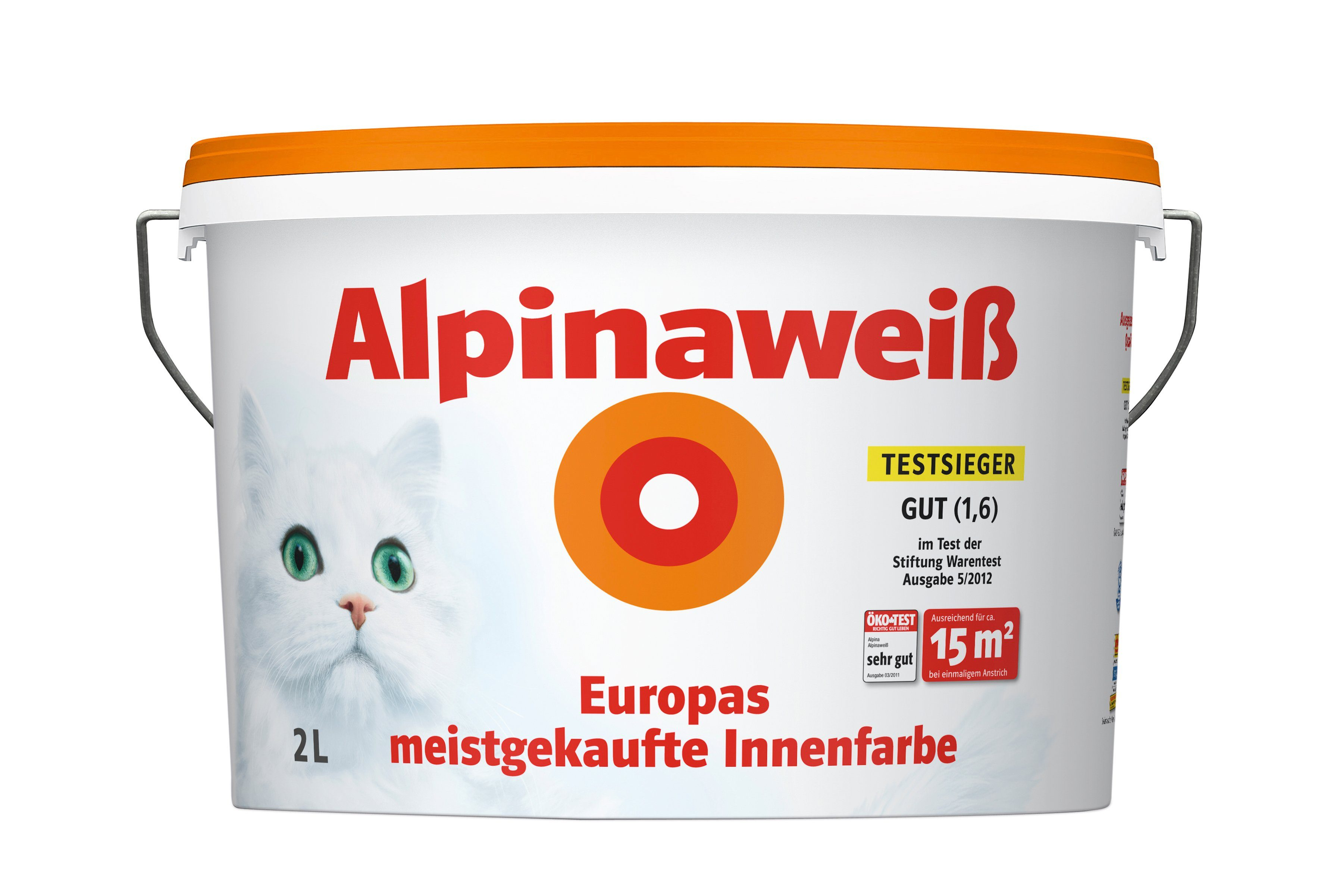Innenfarbe »Alpinaweiß, 2L«