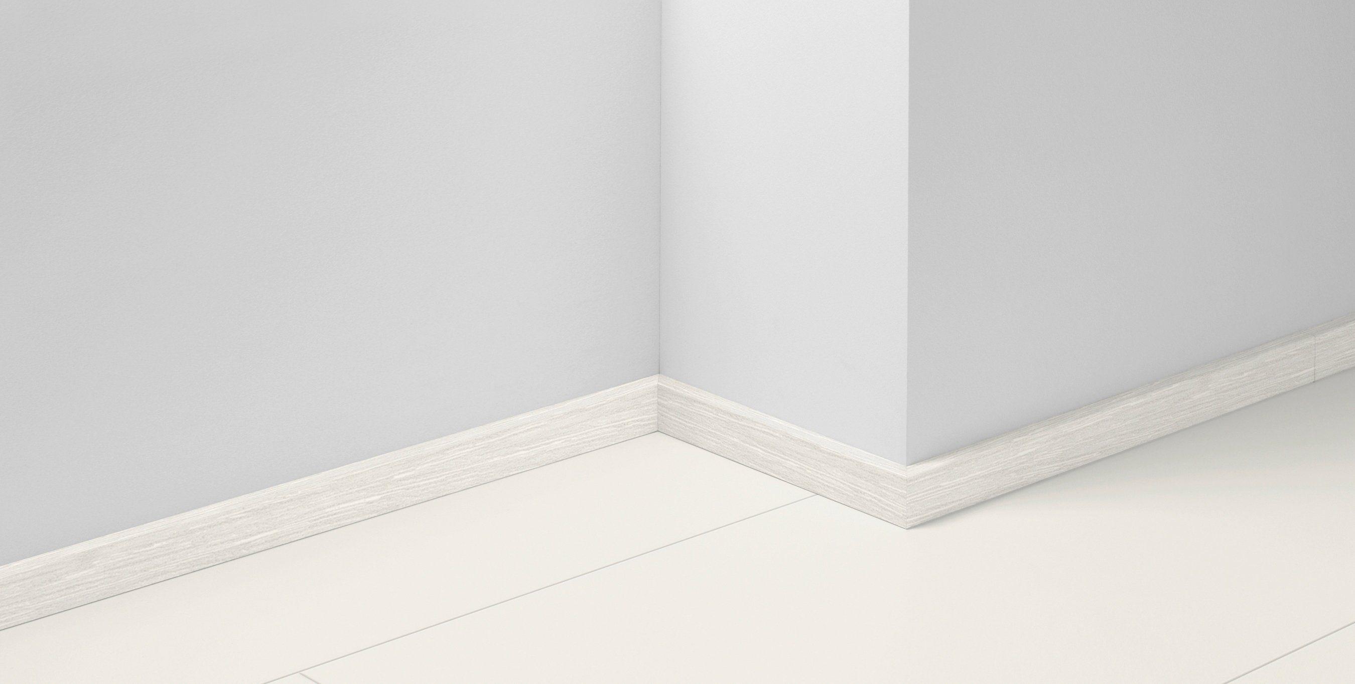 PARADOR Sockelleiste »SL 3 Basic 200, eiche weiß«