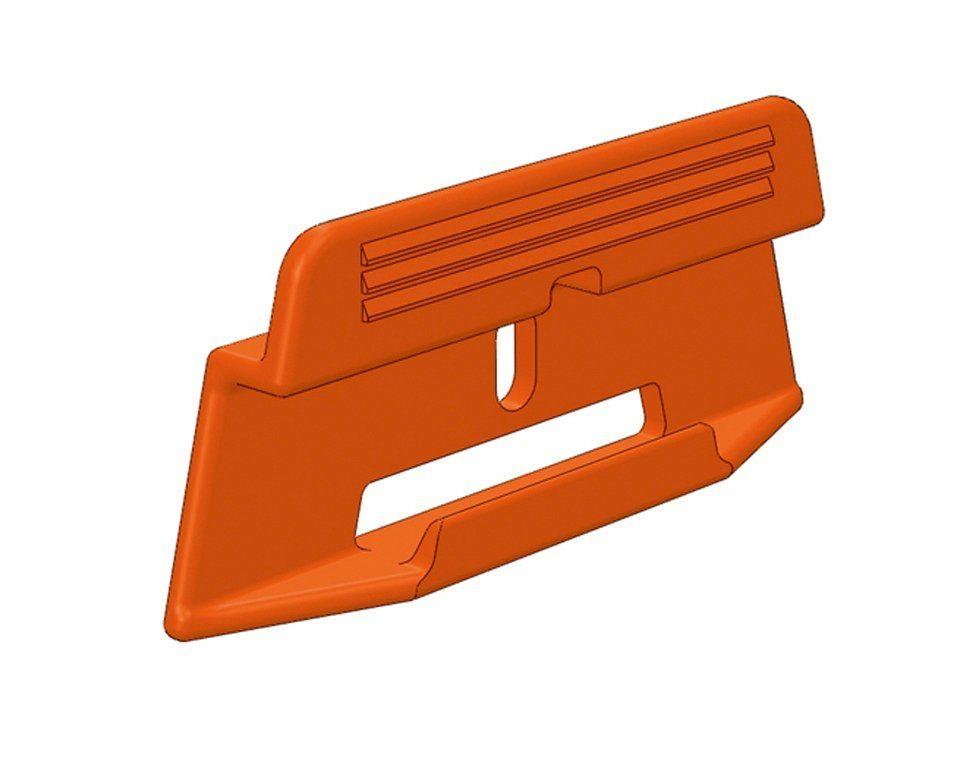 PARADOR Packung: Leisten-Befestigungsclips »Leistenclipse orange«, 24 Stück, für SL 3