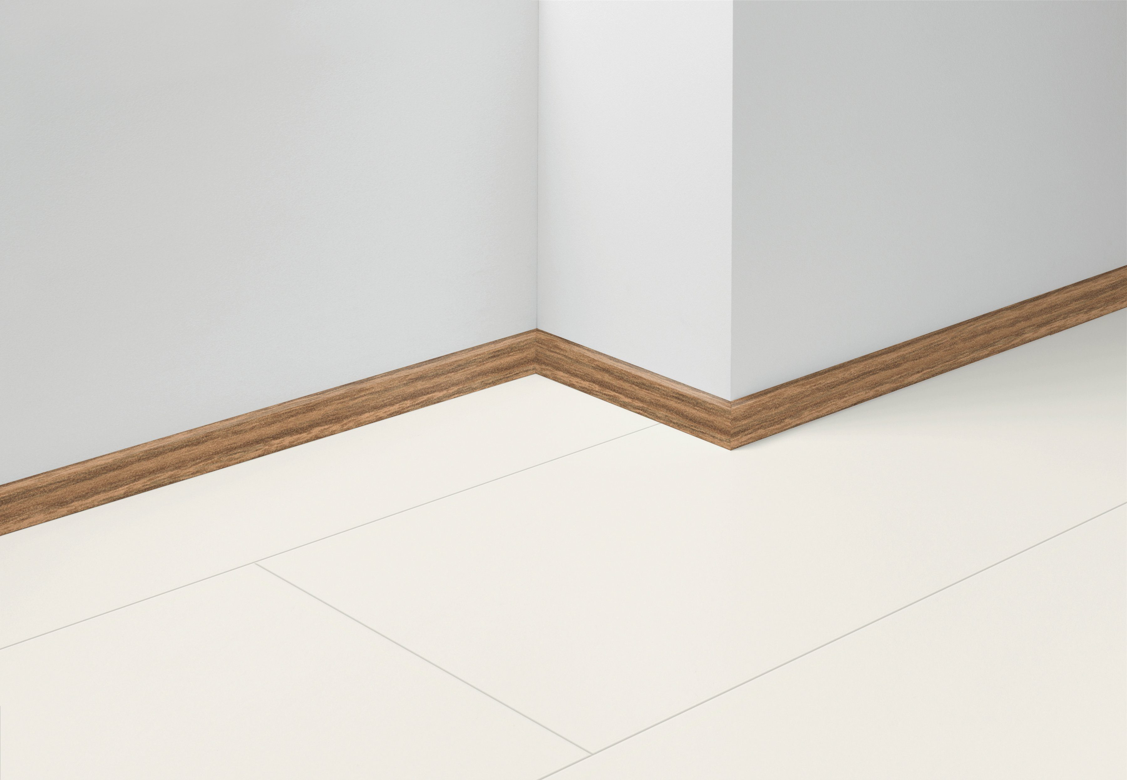PARADOR Set: Sockelleiste »SL 3 Nussbaum D001«, 5er-Set, Höhe 4 cm